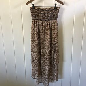 ⚡️NWT⚡️Patterson Kincaid floral strapless dress